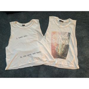 Brandy Melville Muscle Tanks